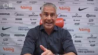 Imagem de visualização para Sylvinho afirma ter apoio da diretoria e do presidente do Corinthians