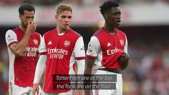 Preview image for Lokonga pleads with Arsenal fans to keep believing
