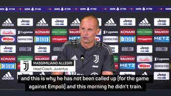 Preview image for 'Ronaldo has no intention to stay at Juventus' - Allegri
