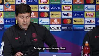 Imagen de vista previa para Pochettino, sobre la recuperación de Messi y su adaptación en París