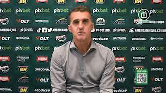 Imagem de visualização para Mancini analisa empate e elogia postura do América-MG