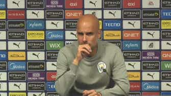 Preview image for Pep sympathises with Arsenal & Mikel Arteta, Guardiola press conference