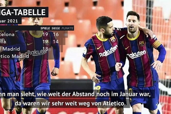 Nach Sieg: Barca-Assistent macht Atletico Druck