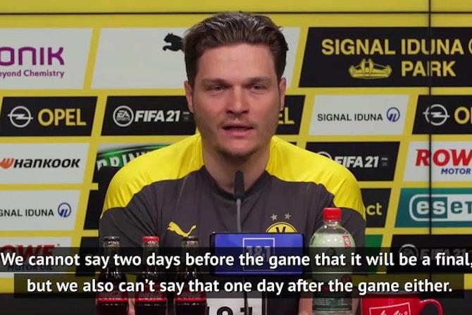 Terzic eyeing 'crucial' win against Frankfurt