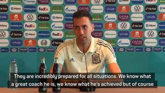 Preview image for It's a mistake to question Luis Enrique as coach - Spain's Busquets