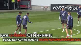 Vorschaubild für Zwischen Revanche, Rekord & WM-Ticket - DFB in Nordmazedonien