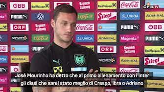 """Anteprima immagine per Arnautovic: """"Io meglio di Ibra? Lo disse Mourinho..."""""""