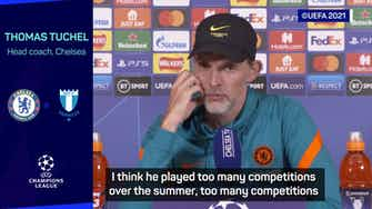 Preview image for 'Overplayed' Lukaku a 'bit mentally tired' - Tuchel
