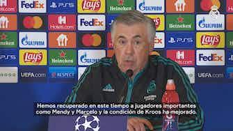 Imagen de vista previa para Carlo Ancelotti: 'El equipo sabe lo importante que es este partido'