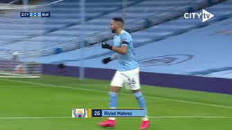 Image d'aperçu pour Le triplé de Mahrez contre Burnley