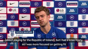 Preview image for Bamford always committed to playing for England over Ireland