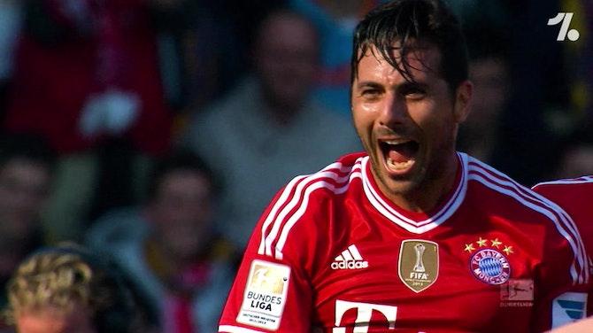 Charla con Pizarro antes del Werder vs Bayern