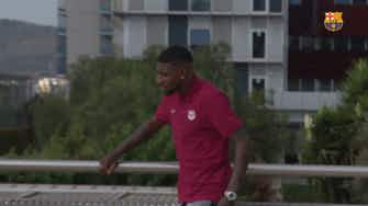 Preview image for Emerson Royal's first words as a Barça player