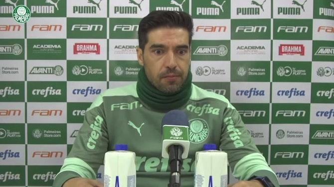 """Imagem de visualização para Abel Ferreira comenta lance polêmico: """"Não houve falta do Renan"""""""