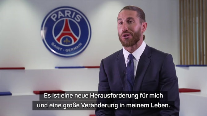 """Vorschaubild für Ramos wechselt zu PSG: """"Ein besonderer Tag"""""""