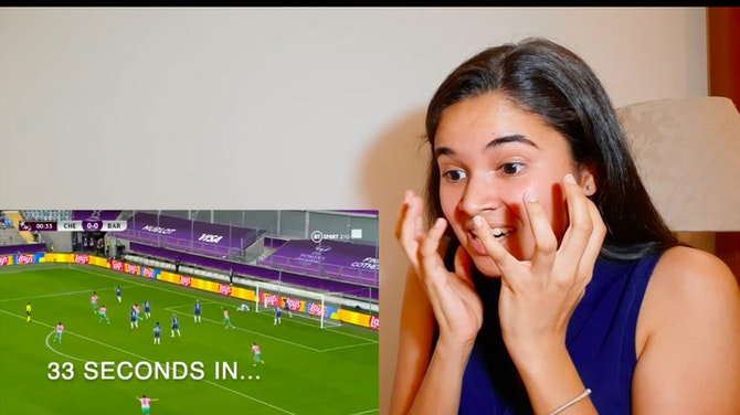 REACTING to goal #1 of the UWCL Final