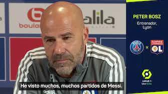 """Imagen de vista previa para Bosz: """"Si eres demasiado educado con Messi, te regateará"""""""