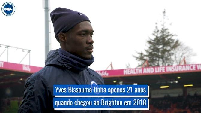Evolução de Yves Bissouma no Brighton