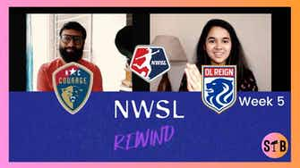 Preview image for North Carolina Courage 2-1 OL Reign   #NWSLRewind Week 5