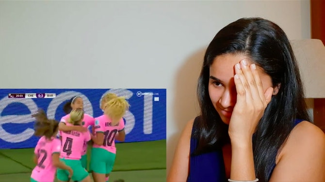 REACTING to goal #3 of the UWCL Final⚽️