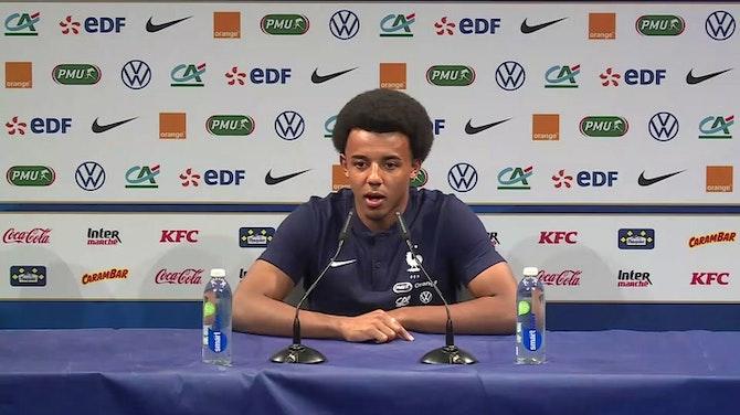 """Bleus - Koundé : """"Les JO, une compétition qui fait rêver"""""""