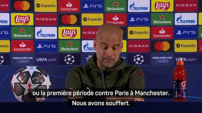 """Finale - Guardiola : """"Je suis l'homme le plus heureux du monde"""""""