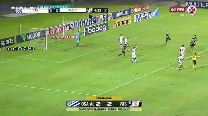 Preview image for Vasco draw against CSA at Rei Pelé Stadium