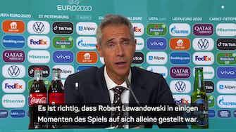 Vorschaubild für Sousa enttäuscht: Lewandowski im Stich gelassen