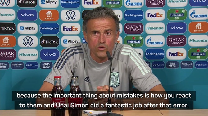 Preview image for Enrique not worried about past mistakes ahead of Euro quarters