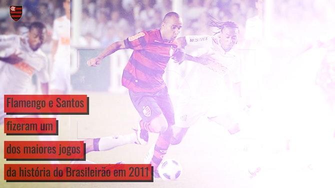 Imagem de visualização para Relembre a virada histórica do Flamengo de Ronaldinho na Vila Belmiro