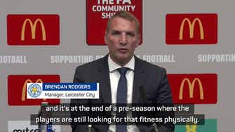 Preview image for Rodgers praises Leicester mentality after Community Shield win