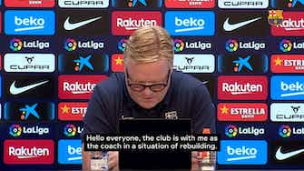 Preview image for Ronald Koeman's Full Statement