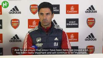 Preview image for Mikel Arteta: 'Lacazette will continue to be important'