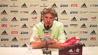 Imagem de visualização para Renato explica posicionamento de Andreas Pereira e lamenta eliminação na Copa do Brasil