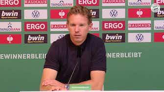 Vorschaubild für Nagelsmann very happy with Sane's and Musiala's performance