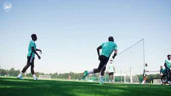Imagem de visualização para Thomas Partey volta a treinar após se recuperar de lesão no Arsenal