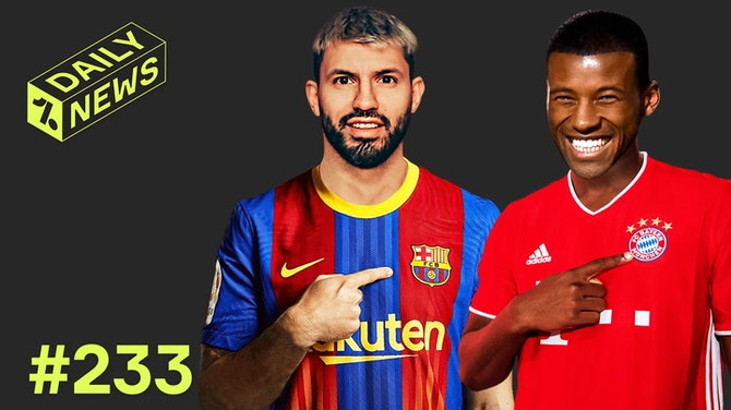 Aguero AGREES Barca switch + Bayern start Gini talks!