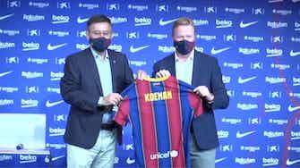 Vorschaubild für Koeman bei Barcelona entlassen