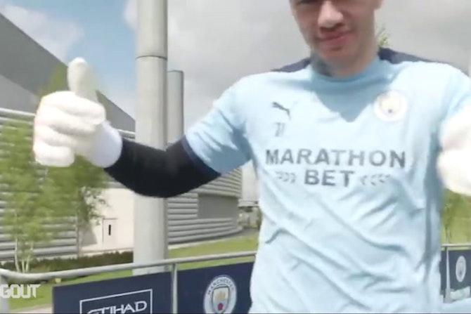 Manchester City volta a treinar após título da Premier League