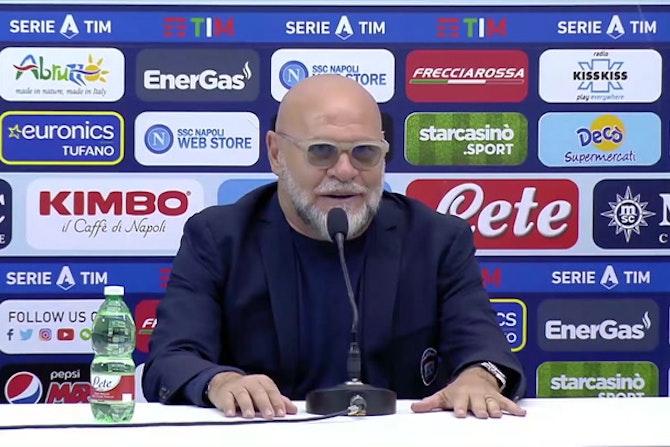 """Cosmi: """"Non si può giocare in quella maniera col Napoli"""""""