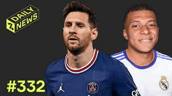 Preview image for Mbappé's Real Madrid TRANSFER still on! + Messi UCL return!