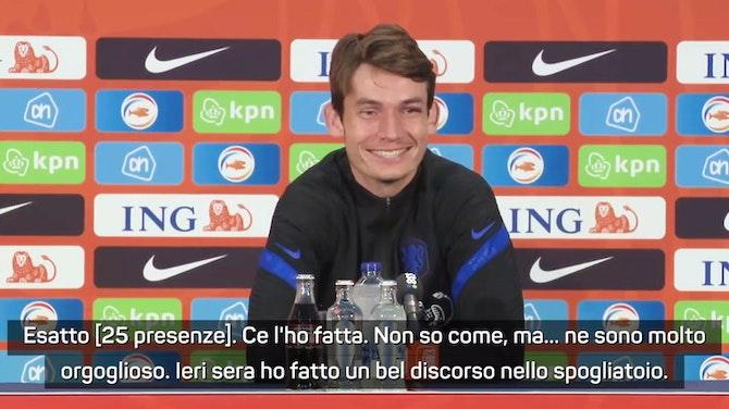 """De Roon: """"Che Italia, è molto organizzata e crea tanto"""""""