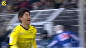 Image d'aperçu pour Les buts de Kagawa contre Leverkusen