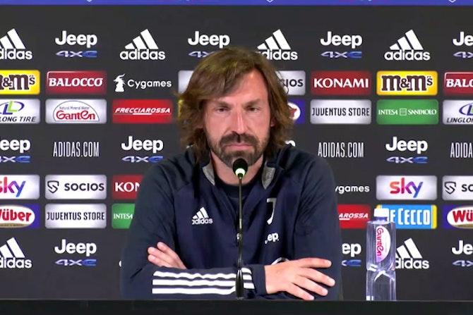 """Pirlo: """"Superlega? Pensiamo a guadagnarci la Champions sul campo"""""""