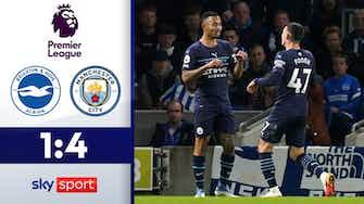 Vorschaubild für Tore ohne Ende   Brighton & Hove Albion - Manchester City 1:4