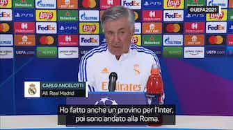 """Anteprima immagine per Ancelotti: """"Da piccolo tifavo Inter ma poi..."""""""