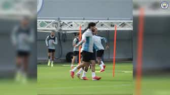 Image d'aperçu pour Le premier entraînement de Kayky avec Manchester City