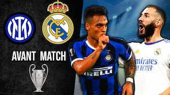 Image d'aperçu pour Inter vs Real : l'avant match ! Quelle compo pour Madrid ?