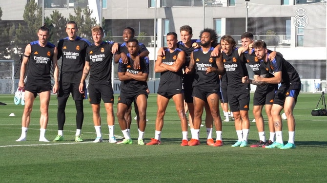 Imagem de visualização para Com a presença de Bale, Real Madrid segue firme nos treinos de pré-temporada