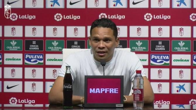 """Imagen de vista previa para Carlos Bacca: """"El Granada está haciendo un equipo competitivo, pero sobre todo un grupo"""""""